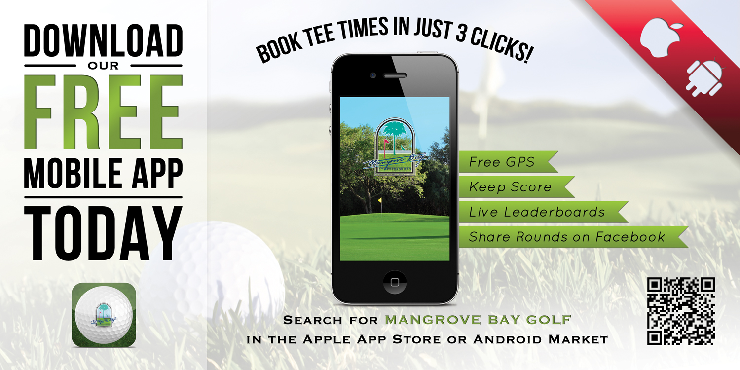 Download our Mangrove Bay mobile phone app Now
